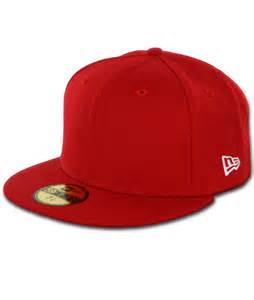 Fitted Hat New Era Plain Blank Original 59fifty Fitted Baseball