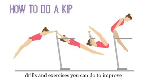 how to do a kip drills and exercises you can do to improve
