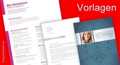 Lebenslauf Vorlage Mit Bild by Bewerbungsschreiben Vorlagen Mit Lebenslauf In Word