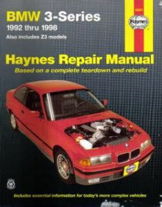 automotive service manuals 1998 bmw 3 series interior lighting haynes bmw 3 series 1992 1998 auto repair manual