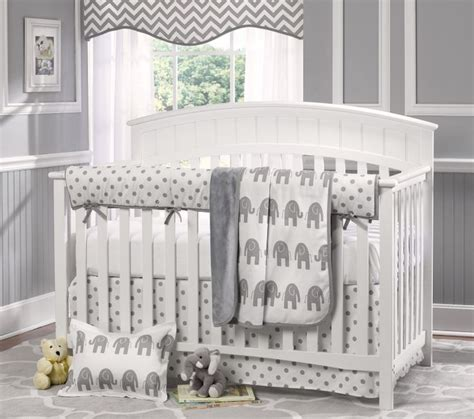 Gray Elephant Crib Bedding Gray Elephant Baby Bedding Crib Bedding