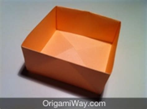 Small Boxes Out Of Paper - how to make a box out of paper