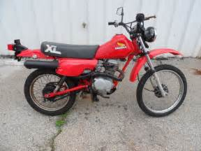 Honda Xl100 1983 Honda Xl 100 Sb F For Sale Elberton Ga 30635
