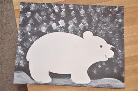 Paper Plate Polar Craft - tami s house polar