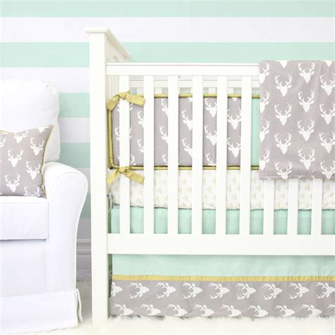Deer Crib Bedding Sets Woodlands Deer Crib Bedding Set By Caden Rosenberryrooms