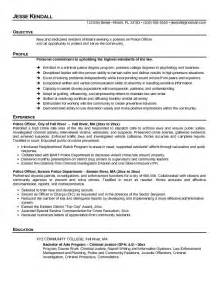 officer resume template free officer resume templates http www