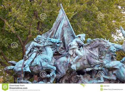 Stock Image Of Civil War Statue In Washington Dc K8925735 Search Stock Photos Mural Calvary Charge Us Grant Statue Civil War Memorial Capitol Hill W Stock Image Image
