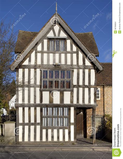 English Cottage Style Homes Tudor House Facade England Stock Images Image 36789664