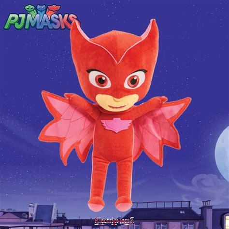 Pj Masks Sing And Talk Plush Gekko pj masks sing talk plush owlette