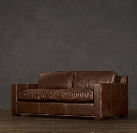 leather couch restoration hardware 1000 images about restoration hardware diy on pinterest