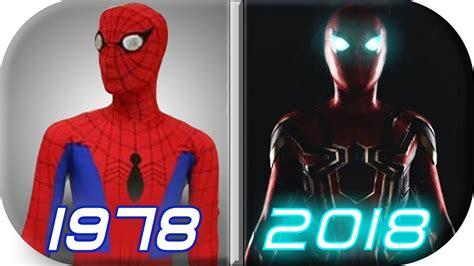evolution spiderman movies spiderman
