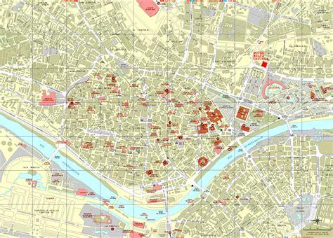 Sevilla Kaart   Interactieve en Gedetailleerde