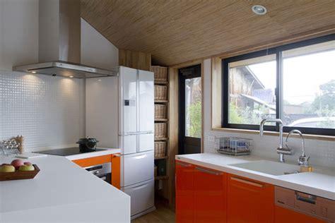 japanese pentagonal house beautiful modern traditional mixing kitchen viahousecom