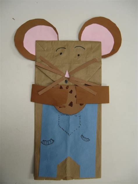 paper bag mouse puppet pattern pin by megsee davies on school pinterest