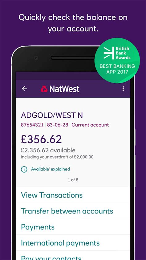 mobile banking natwest natwest mobile banking android apps on play