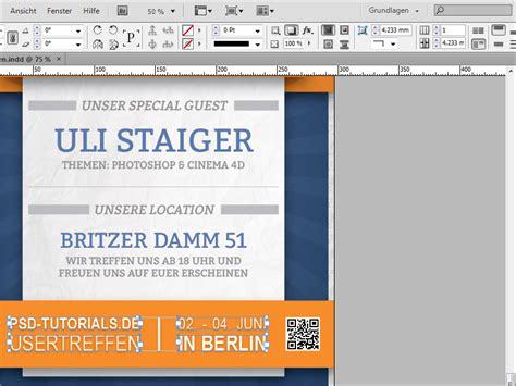 tutorial indesign buch erstellen plakat gestalten qr code estellen indesign qr code