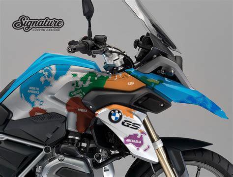 Sticker Kit Motorrad by Bmw R1200gs Lc Fire Blue The Globe Stickers Kit Motorr 228 Der
