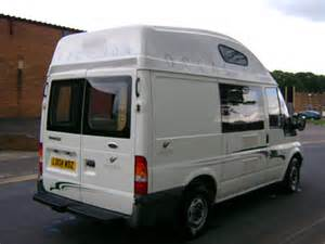 high roof conversion for ford transit swb motorhome cer