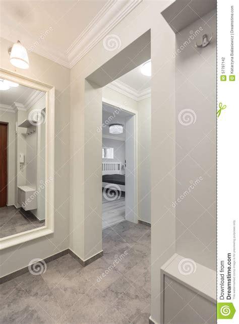 White Corridor white corridor in modern flat stock photo image 57797142
