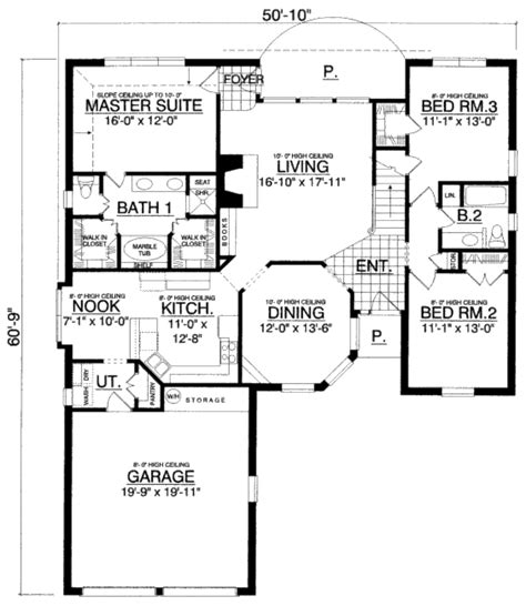 1504 sqaure feet 3 bedrooms 2 bathrooms 2 garage spaces 57 traditional style house plan 3 beds 2 00 baths 1800 sq