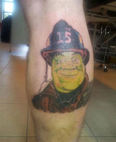 shrek tattoo fails house empire