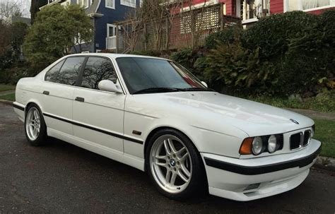 1995 bmw 540i for sale modified 1995 bmw 540i m sport 6 speed bring a trailer