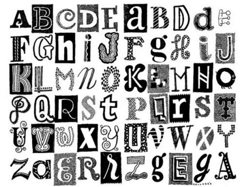 different letter styles different styles of letters different types of 1187