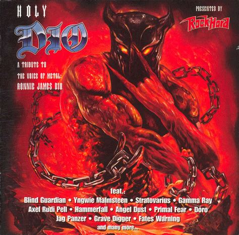 Blind Guardian Live Tapio S Ronnie James Dio Pages Tributes Cd Discography