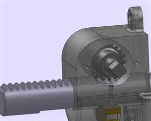 solidworks rack pinion motion study animation
