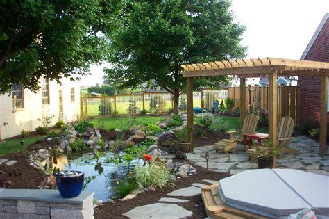 small yard living and landscaping pergolas pavilions and gazebos lancaster pa c e pontz sons landscape contractors
