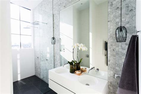Remodel Small Bathroom Ideas by The Block Glasshouse Week 8 Room Reveals L Ensuite Week