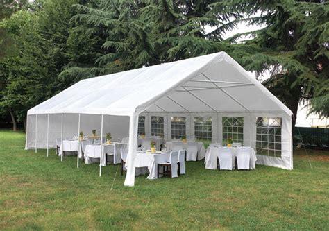 gazebo rettangolare gazebo rettangolare 12x6 m greenwood per feste e cerimonie