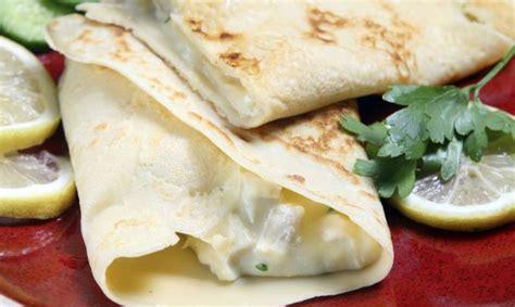 crepes receta salados receta de recetas de crepes salados hogarmania