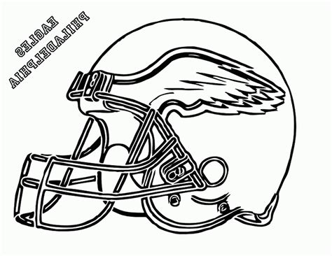 football helmet coloring pages eagles 492209 171 coloring