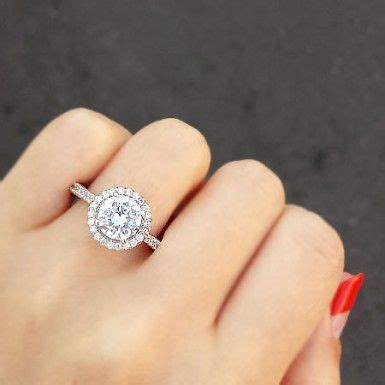25 best ideas about circle engagement rings on