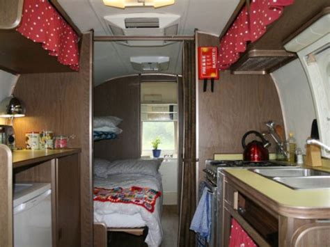 bedroom airstream caravans   coast  suffolk