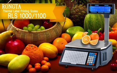 Timbangan Digital Bekasi timbangan digital 1100 kios barcode