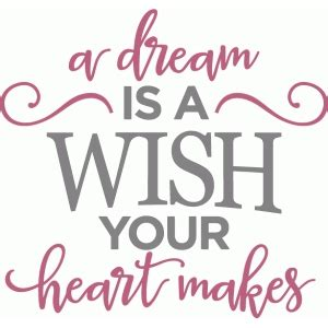 a dream is a wish your heart makes tattoo silhouette design store view design 84897 is a