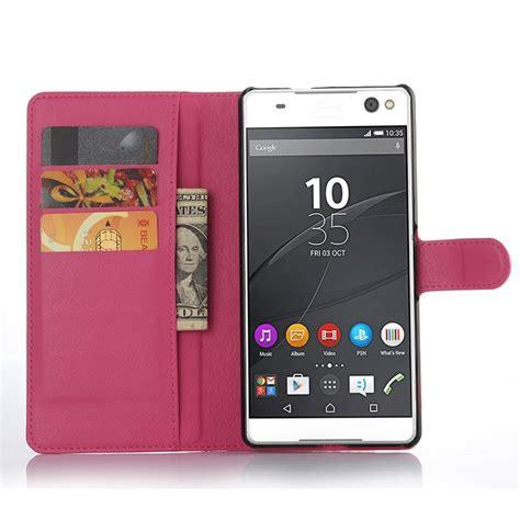 Luxury Soft Sony Xperia C5 Ultra Dual Casing Hp Silikon Armo luxury wallet flip pu leather cover for sony xperia c5 ultra dual e5533 e5553 cell