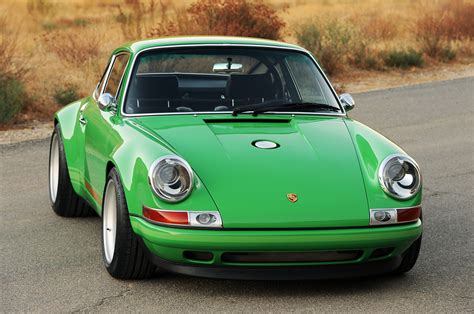 green porsche singer porsche 911 porsche 911 tuning