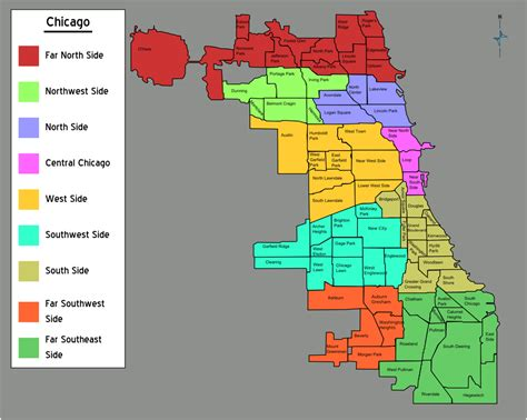 chicago map image file chicago neighborhoods map png wikimedia commons