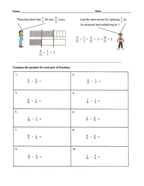 printable math worksheets fraction bars fraction bars worksheets fractions worksheets printable