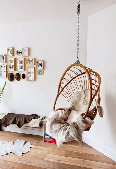 cozy hanging chairs