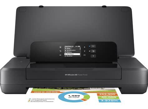 Printer Hp Portable hp officejet 200 mobile printer hp store australia