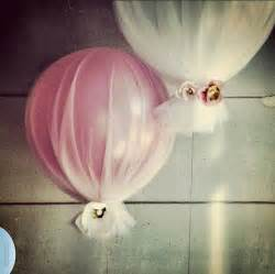 tulle balloons for a bridal shower lovely wedding ideas