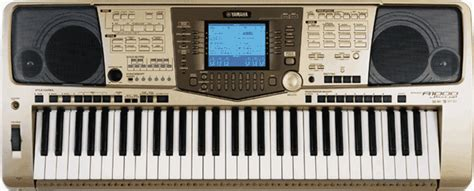 Lcd Keyboard Yamaha Psr 1000 largest keyboards library new styles yamaha psr a1000