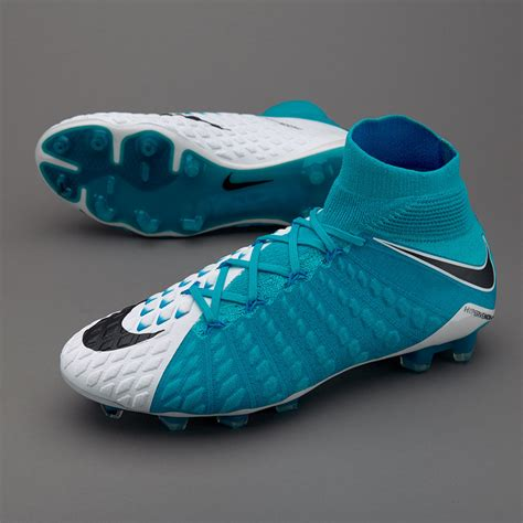 Sepatu Nike Football Sepatu Bola Nike Original Hypervenom Phantom Iii Df Fg White Black Photo Blue