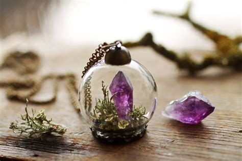 terrarium jewelry terrarium jewelry by ruby robin lets you take tiny bits of
