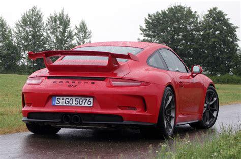 Porsche Gt3 2014 by 2014 Porsche 911 Gt3 W Autoblog