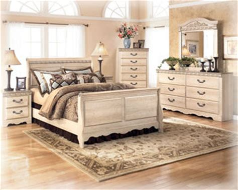 ashley furniture trishley 2pc bedroom set with queen sleigh bed silverglade b174 queen bedroom set signature design by